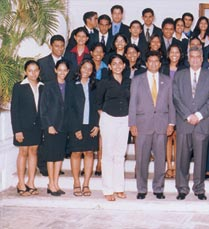 SRI LANKAN DELEGATION OF JULY 2003