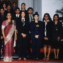 SRI LANKAN DELEGATION OF MARCH 2003